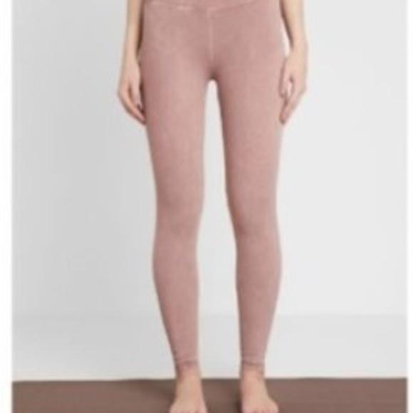 Free People Pants - NWOT Free People Movement Taupe/Pink Leggings